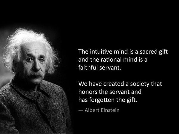 Ratio of intuïtie